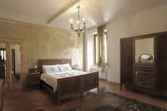 Bedroom in Italy Royalty Free Stock Photography