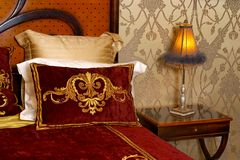 bedroom lamp στοκ φωτογραφία με δικαίωμα ελεύθερης χρήσης