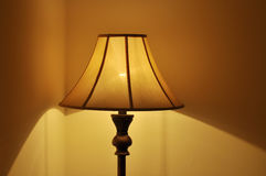 A bedroom lamp Royalty Free Stock Photo