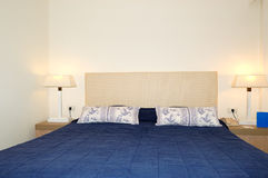 Bedroom in the luxury hotel Stock Photo