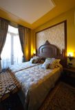 Bedroom of luxury hotel suite Royalty Free Stock Images