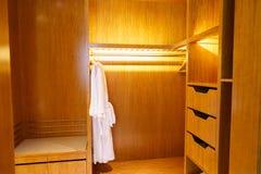 Bedroom of luxury suite in hotel Royalty Free Stock Photos