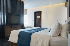 Bedroom of luxury suite in hotel in Vietnam. Stock Photography
