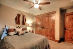 bedroom modern 库存照片