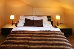 bedroom modern Στοκ Φωτογραφία