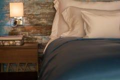 Bedroom modern stock images