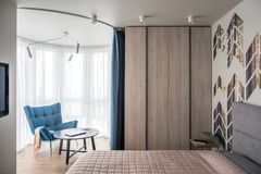 Interior in modern style Royalty Free Stock Photos