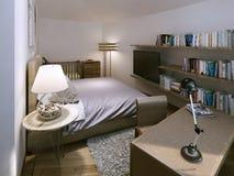 Bedroom modern style Stock Photo