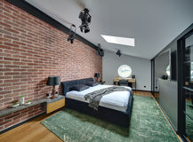 Bedroom in modern style Stock Photo