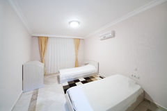 Bedroom in My Marine Residence residential complex in Alanya Stock Image