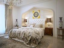 Bedroom oriental style Stock Image