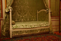 Bedroom in palace. Nieborow Poland Royalty Free Stock Photo