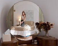 Bedroom Reflection Stock Photography