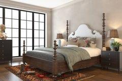 Bedroom Render Stock Photos
