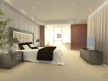 Bedroom Render Stock Photography