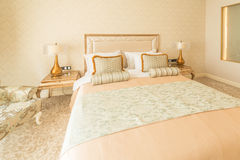 Bedroom room in modern style Royalty Free Stock Photography
