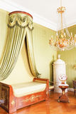 Bedroom with Royal canopy bed Stock Photography