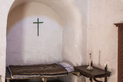 Bedroom in Santa Catalina monastery  Arequipa Peru Royalty Free Stock Image