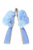Bedroom Slippers de señora imagenes de archivo