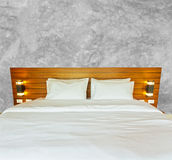 Bedroom for travle on holiday Stock Photography