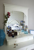 Bedroom vanity Stock Image