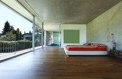 Bedroom view Stock Photo