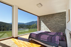 Bedroom view Stock Photography