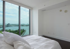 Bedroom with a view Royalty Free Stock Photo
