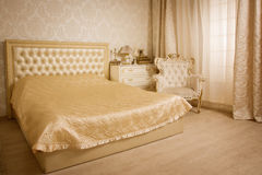 Bedroom in the vintage style Royalty Free Stock Photos