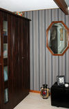 Bedroom wardrobe corner Stock Images