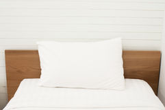Bedroom White. White room with white couches and Royalty Free Stock Images