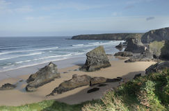 Bedruthan Stock Photo
