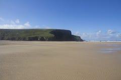 Bedruthan plaża Zdjęcia Royalty Free