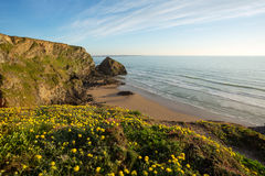 Bedruthan Steps Stock Image