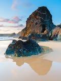 Bedruthan Steps Cornwall England UK Europe Royalty Free Stock Photography