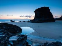 Bedruthan Steps Cornwall England UK Europe Royalty Free Stock Images