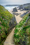 Bedruthan steps Stock Photos