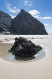 Bedruthan Steps stunning beach and stacks Royalty Free Stock Images