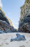 Bedruthan Steps stunning beach and stacks Stock Image