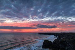 Bedruthan steps Stock Photography