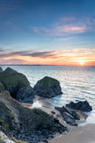Bedruthan Steps Stock Photo