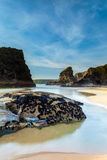 Bedruthan Steps Royalty Free Stock Photos