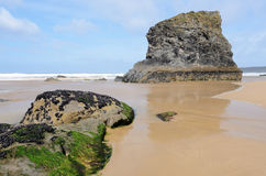 Bedruthan Steps Royalty Free Stock Images