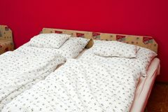 Beds Royalty Free Stock Photography