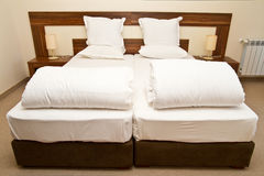 Beds Royalty Free Stock Photo