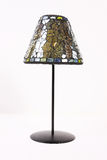 bedside isolerad lampa Royaltyfri Foto