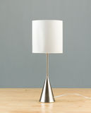 Bedside lamp isolated  Stock Photography
