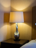 Bedside lamp Royalty Free Stock Photos