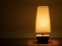 Bedside lamp Royalty Free Stock Image