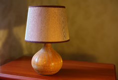 Bedside lamp Royalty Free Stock Images